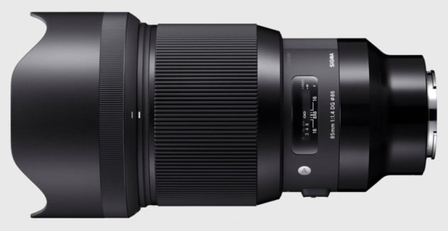 Sigma Art 85mm f/1.4 for Sony E-mount