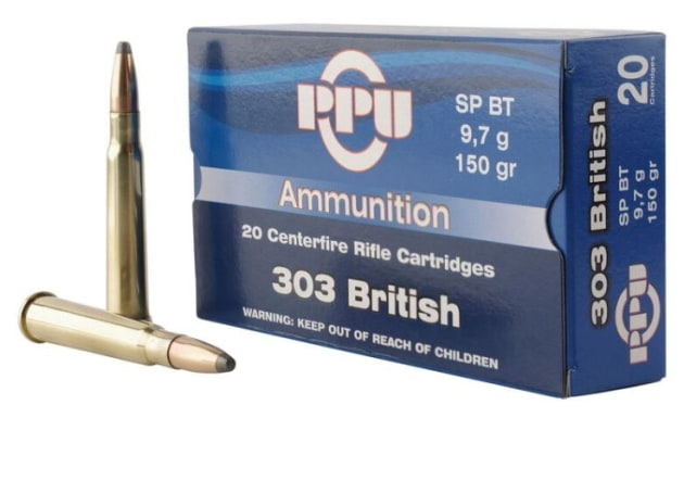 PPU .303 British 150gn Softpoint