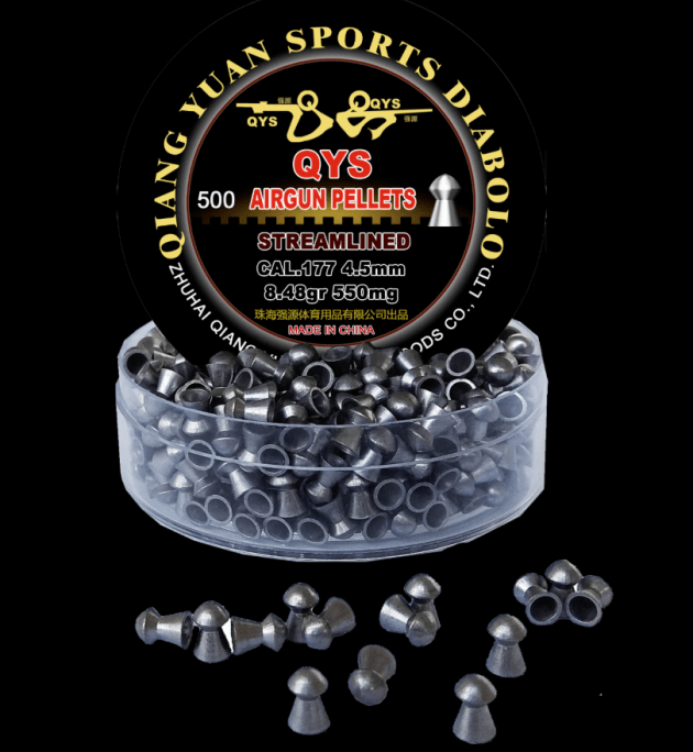 QYS Domed Air Rifle Pellets