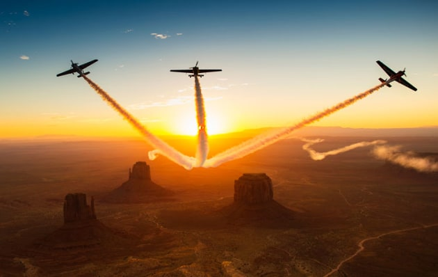 The sun is setting on the Red Bull Air Race as 2019 is announced as the final series. (Joerg Mitter / Red Bull Content Pool)