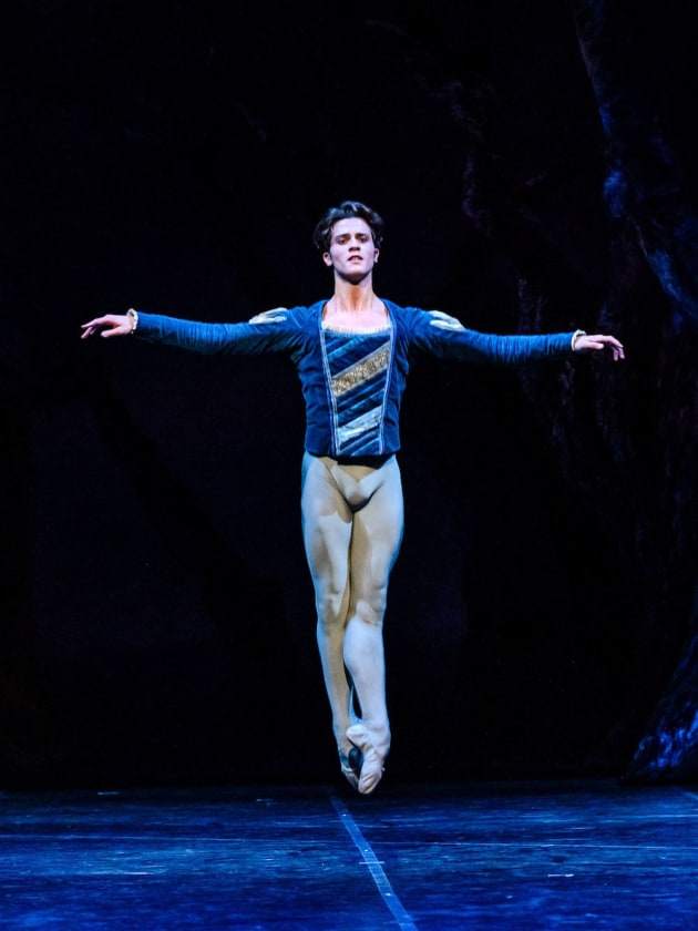 Claudio Coviello as Albrecht. Photo: Darren Thomas.