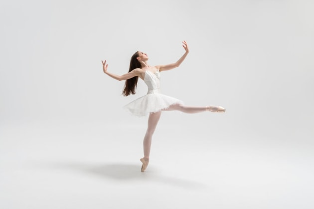 New Zealand School of Dance 3rd Year classical ballet student Teagan Tank. Photo by Stephen A'Court.