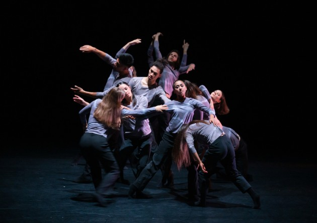 'Wicked Fish'. Choreography by Huang Yi. Photo: Stephen A'Court.