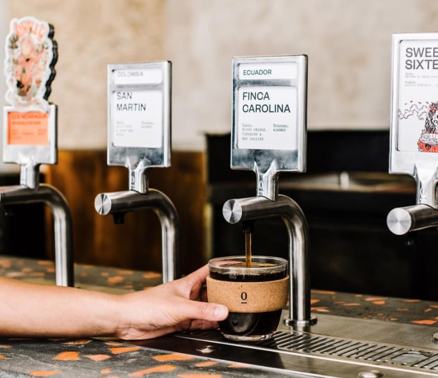 Sydney's Single O installs world-first self-serve coffee tap prototype - foodservice