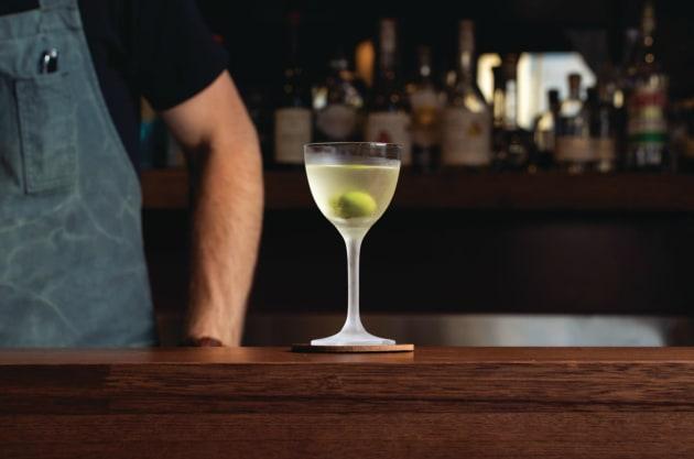 Recipe: Darren Leaney's olive oil Martini - foodservice