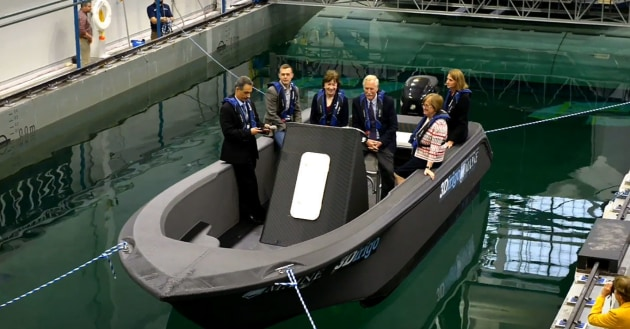 worlds largest 3d printed boat