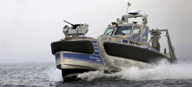 Elbit System's Seagull USV. Credit: Elbit Systems