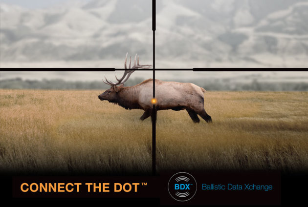 Sig Sauer BDX reticle illustrated