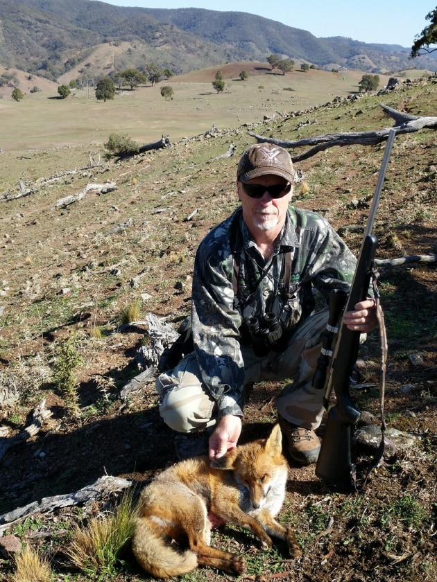 Stuart and the master class fox, whistled in from 500 metres. He came in likle an arrow.