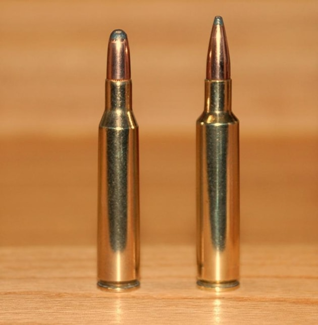 Two .257s (R) .257 Roberts (L) .257 Ackley Improved.