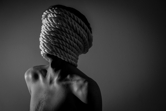 Faceless, from the series, The Chronic Diaries. © Tyler Grace.