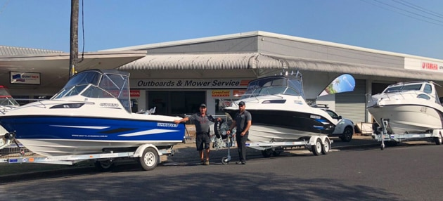 Cavs Marine in Tully is the latest dealer to join the Whittley network.
