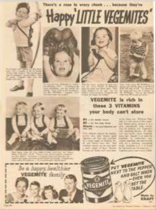 Vegemite in the 50s