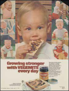 Vegemite in the 70s