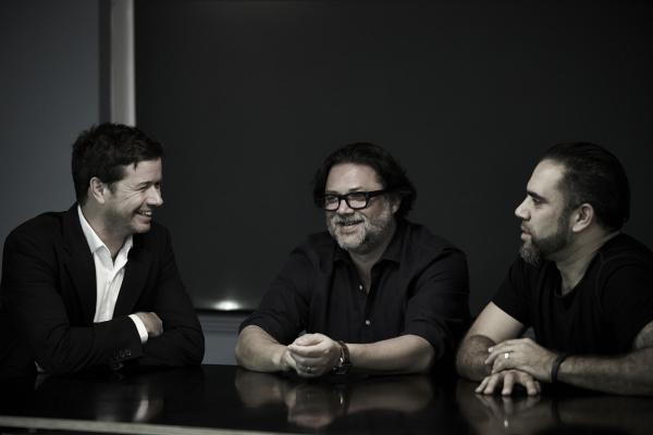 Steve Coll, David Nobay and Sudeep Gohil