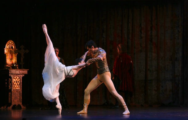 Tamara Rojo and Hao Bin. Photo: David Kelly.