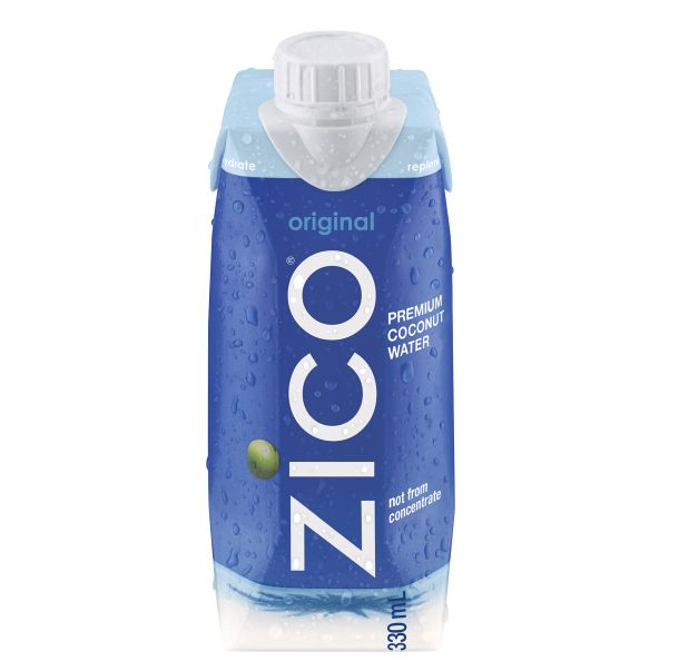 Zico coconut water.