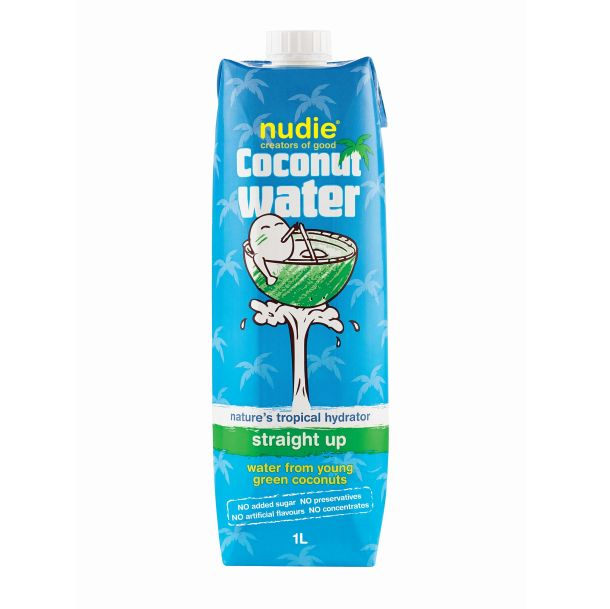 Nudie coconut water.