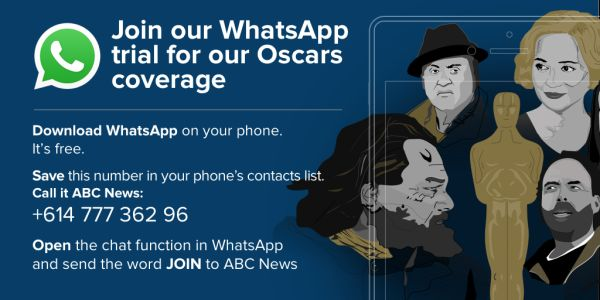 ABC News launches Whatsapp trial. Image source: Twitter
