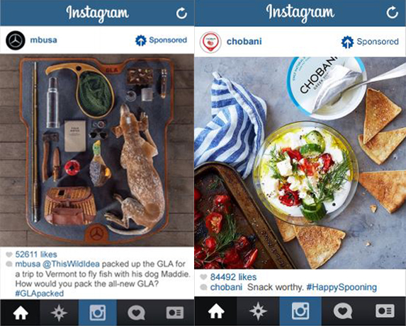 Instagram case studies from when they first launched.