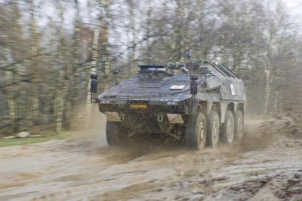 The Boxer has served the German Bundeswehr well thus far. Credit: Rheinmetall