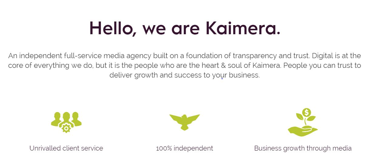 Nick Behr launches full-service media agency, Kaimera.