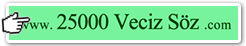 25000 Veciz Söz