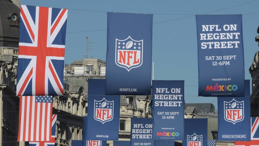 NFL returns to London with two October games