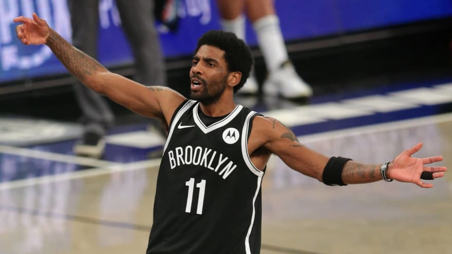 Kyrie Irving: Nets 'embarrassed' by four-game skid