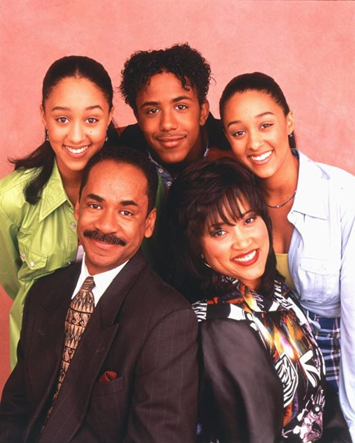 """Sister, Sister"" (ABC: 1994-1995, The WB: 1995-1999)"