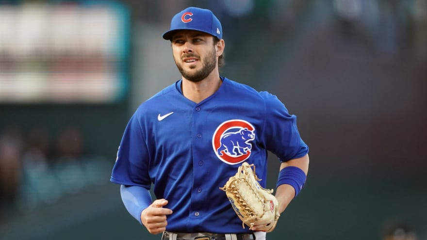 Kris Bryant happy about MLB foreign substance crackdown