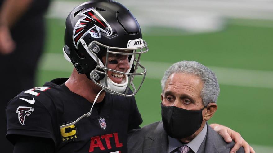 Falcons owner expects Matt Ryan, Julio Jones to return