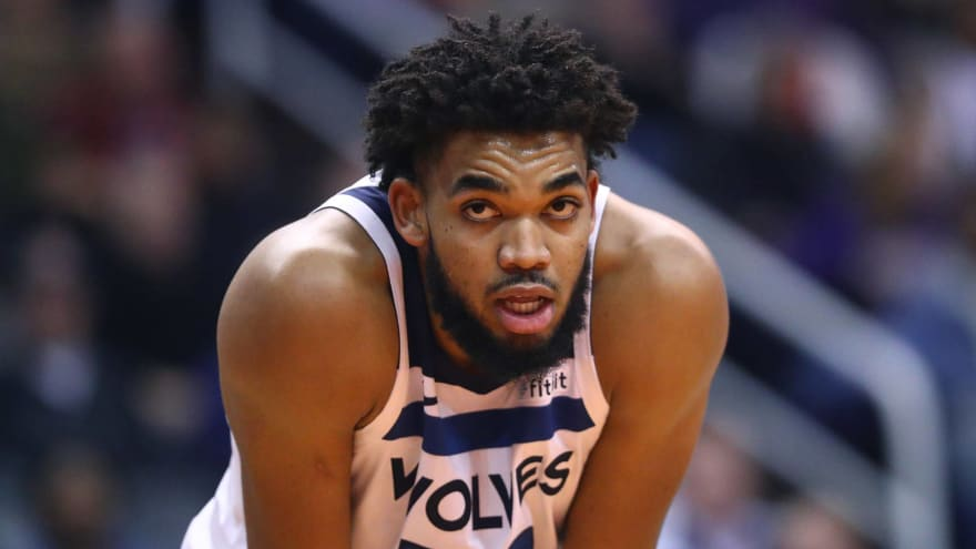 Karl-Anthony Towns says mother is in medically-induced coma due to coronavirus
