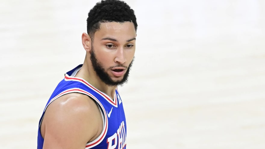 Ben Simmons reportedly rejects meeting with 76ers teammates