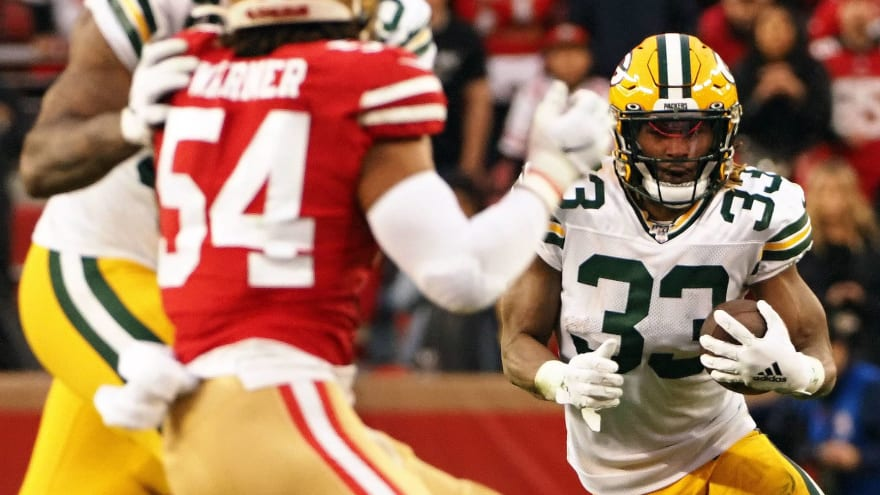 The 'Packers 1,000 yard rushers' quiz