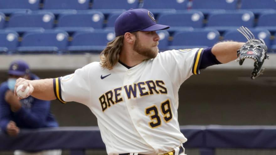 Brewers' Corbin Burnes, Zack Godley go on injured list