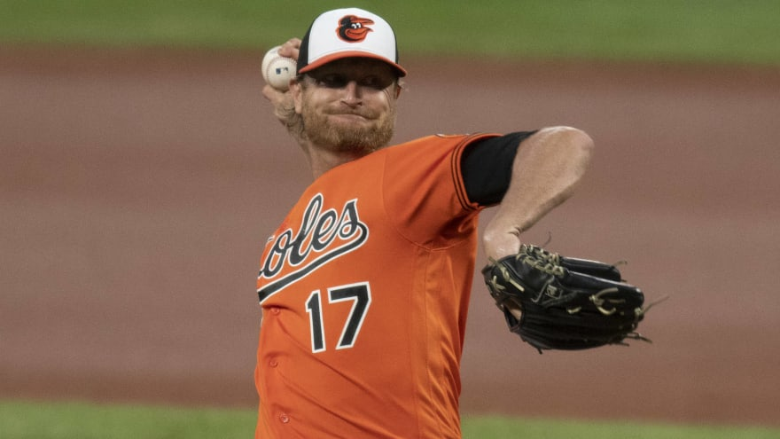 Report: Orioles working on trading Alex Cobb to Angels