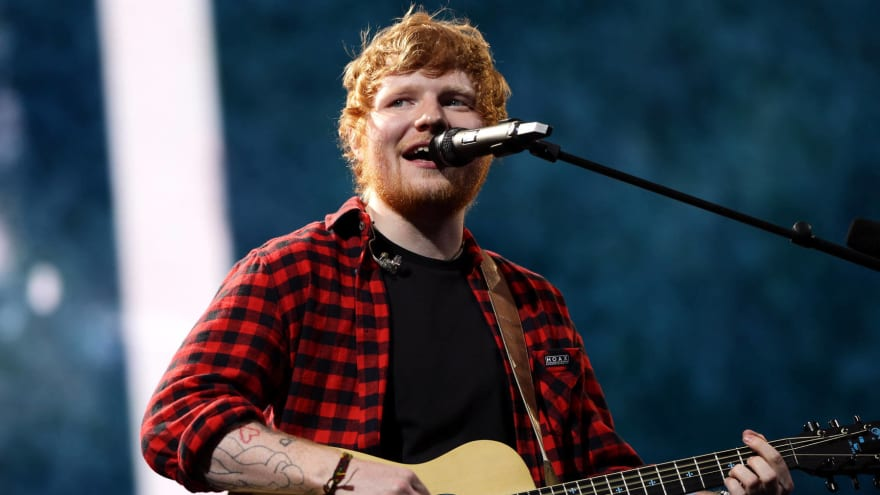 Ed Sheeran explains his loyalty to the Tennessee Titans