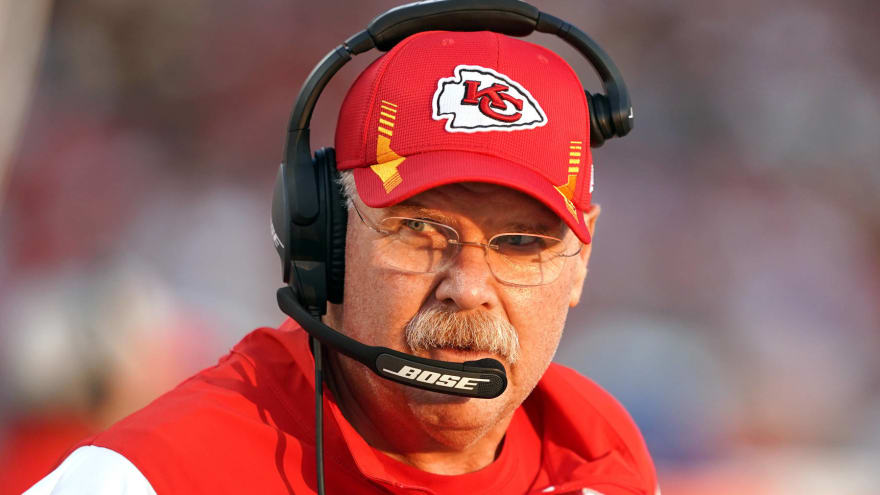 Chiefs HC Andy Reid released from hospital following health scare