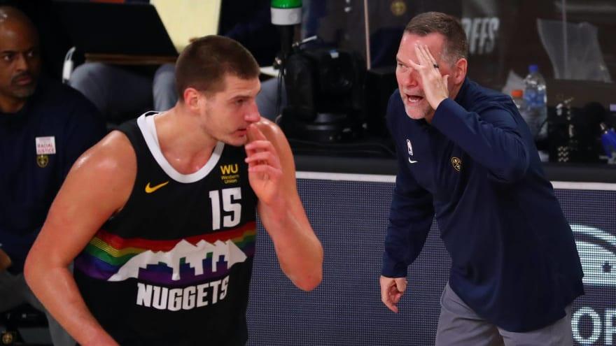 Michael Malone criticizes Nikola Jokic for play in loss to Boston