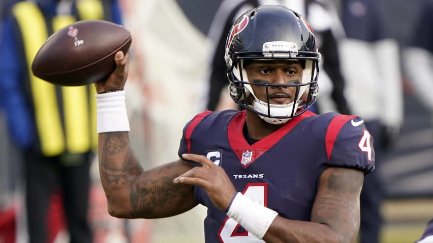 Report: Texans haven't talked to lawyers in Deshaun Watson case