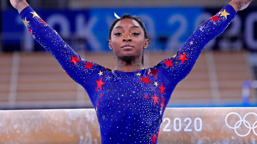Simone Biles returning to compete in beam final