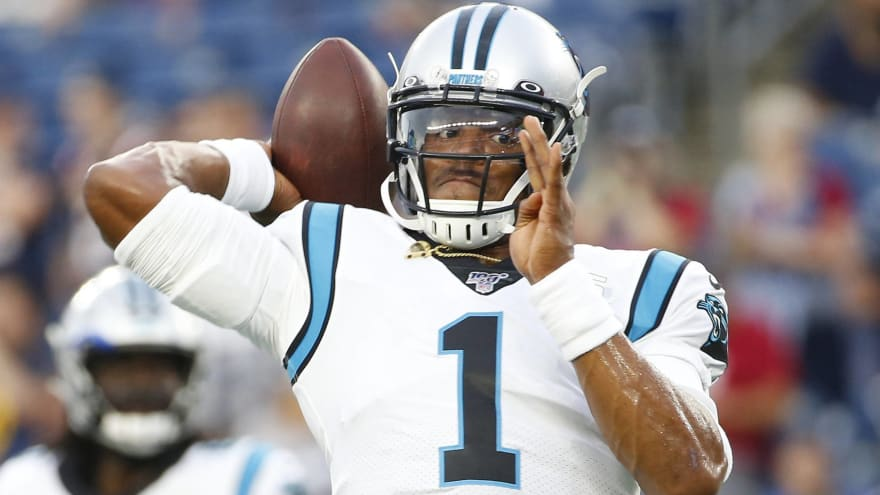 Newton understands Patriots are holding open QB competition