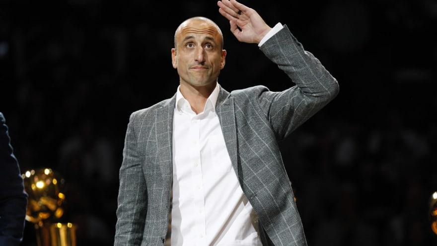 Spurs hire Manu Ginobili as special advisor