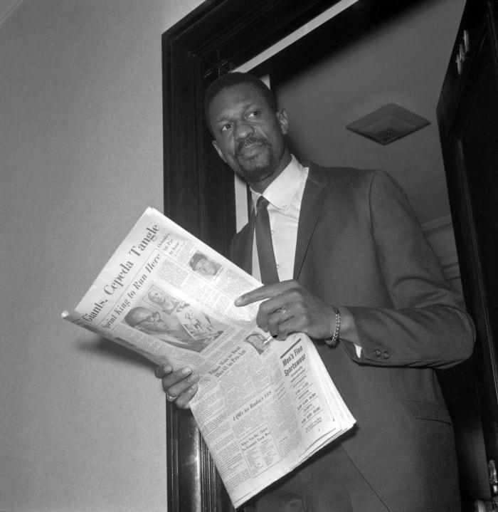 1966: First Professional Black Head Coach: Bill Russell