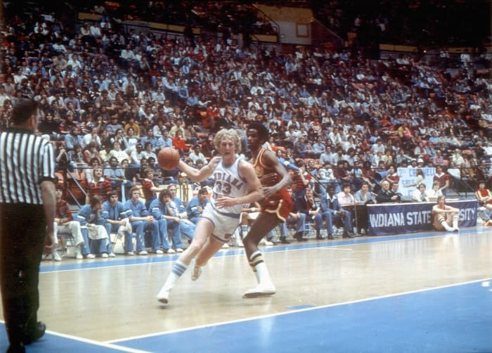 Larry Bird, Indiana State (1977-'79)