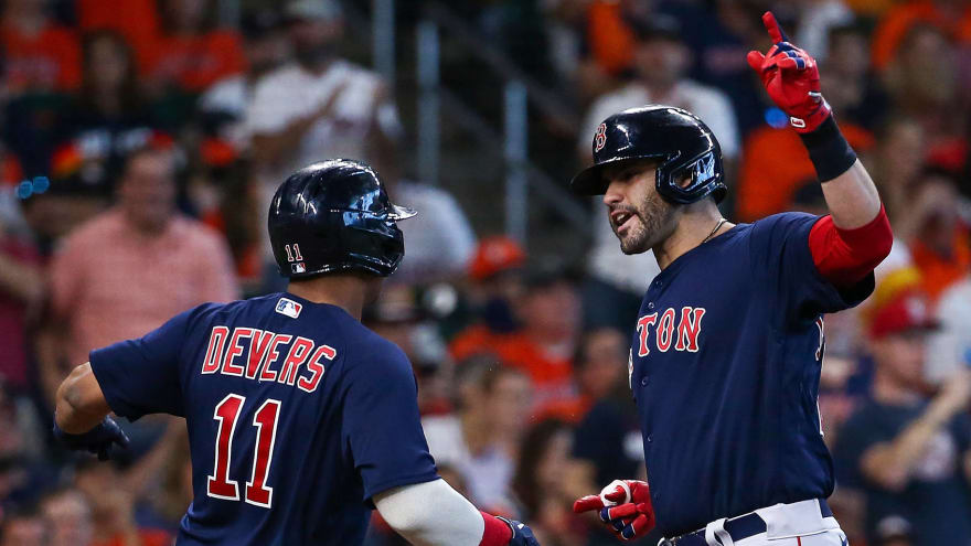 Red Sox make history with grand slams in ALCS Game 2