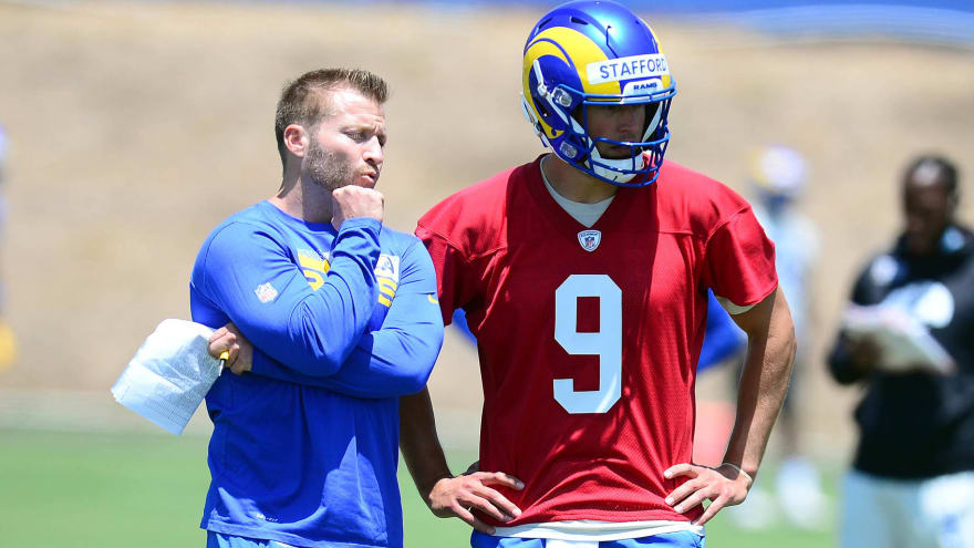 McVay: Happiness with Stafford no insult to Goff