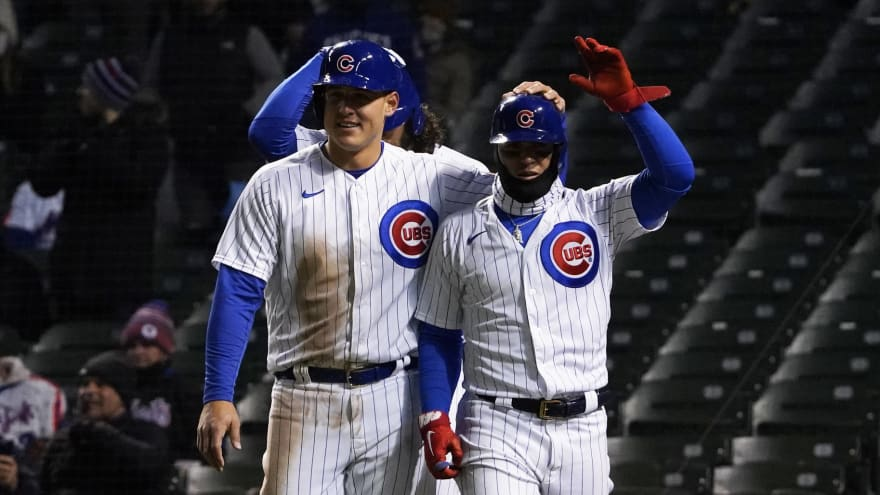Report: Cubs working on extensions for Baez, Rizzo