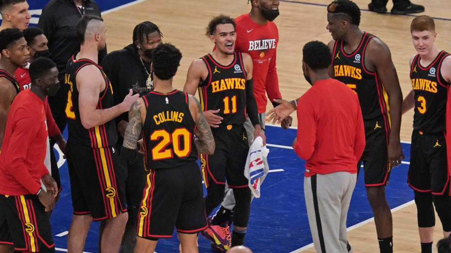 Hawks star Trae Young fine being considered a villain at MSG